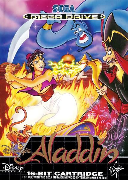 Mega Drive - Disney\'s Aladdin