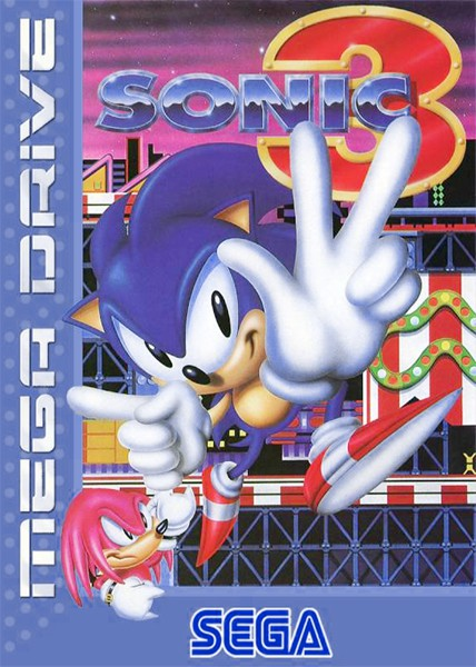Mega Drive - Sonic the Hedgehog 3