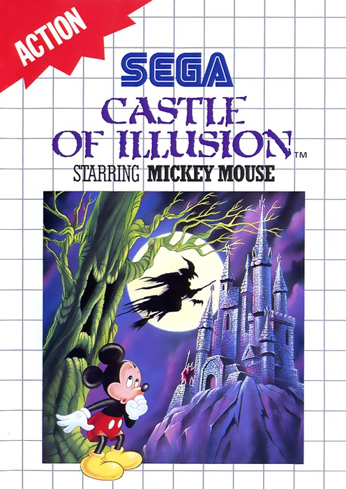 Master System - Castle of Illusion: starring Mickey Mouse