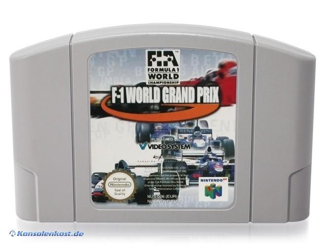 N64 - F-1 World Grand Prix 1