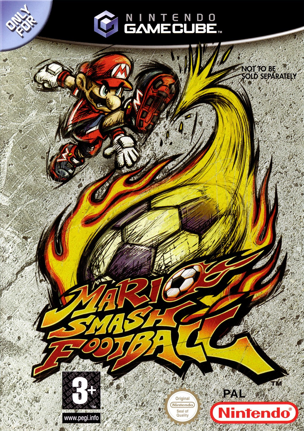 GameCube - Mario Smash Football / Mario Strikers