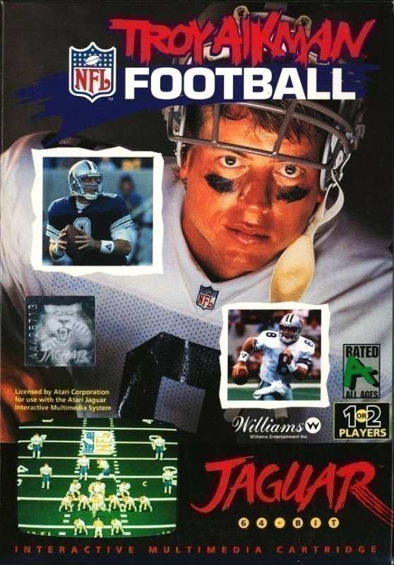 Atari Jaguar - Troy Aikman Football