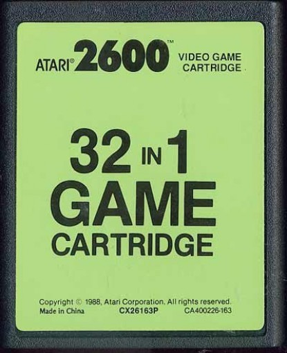 Atari 2600 - 32 in 1 Game Cartridge