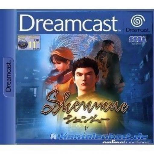 Dreamcast - Shenmue #4 CD\'s