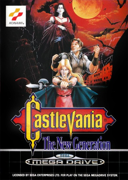 Mega Drive - Castlevania: The New Generation