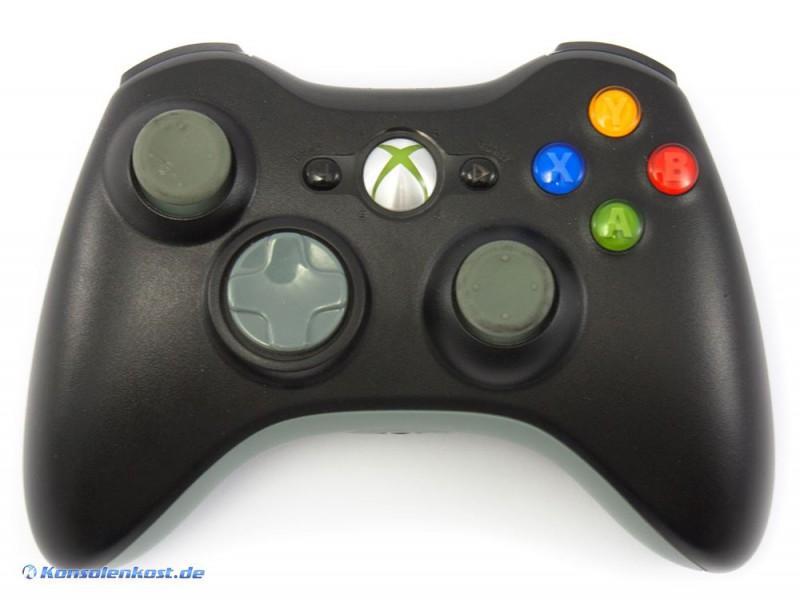 Xbox 360 - Original Wireless Controller #schwarz-grau [Microsoft]