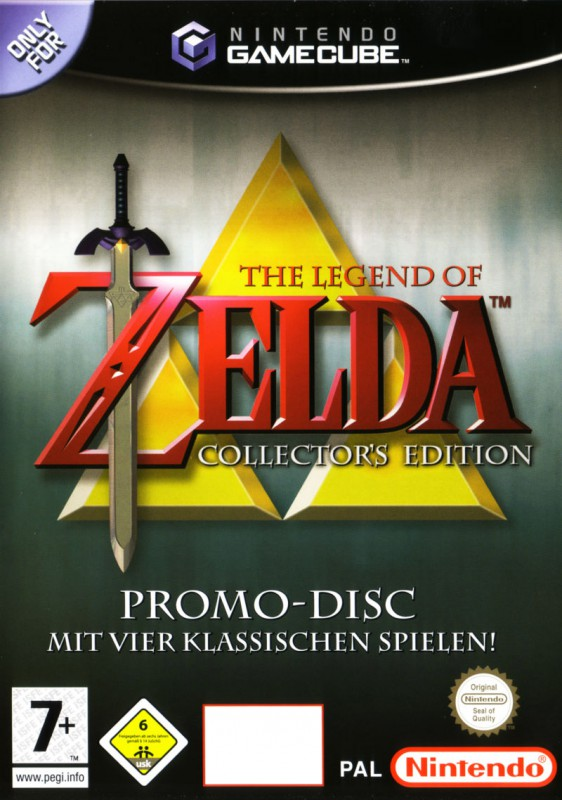 GameCube - The Legend of Zelda: Collector\'s Edition