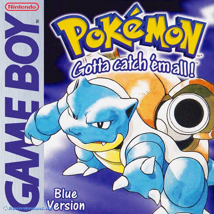 GameBoy - Pokemon Blaue Edition / Blue Version