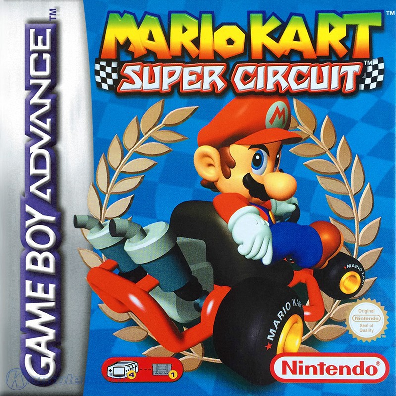 GameBoy Advance - Mario Kart Super Circuit