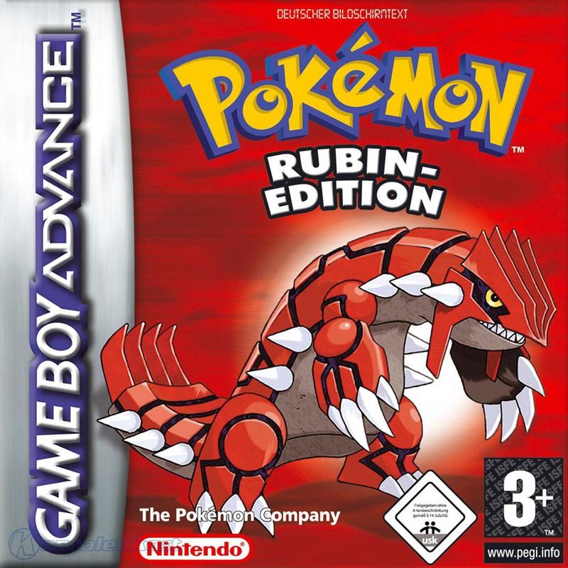 GameBoy Advance - Pokemon Rubin Edition