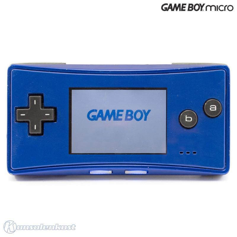 GameBoy Micro - Konsole #blau + Netzteil