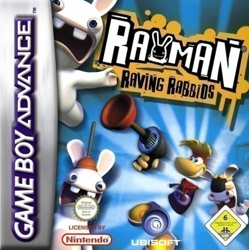 GameBoy Advance - Rayman Raving Rabbids