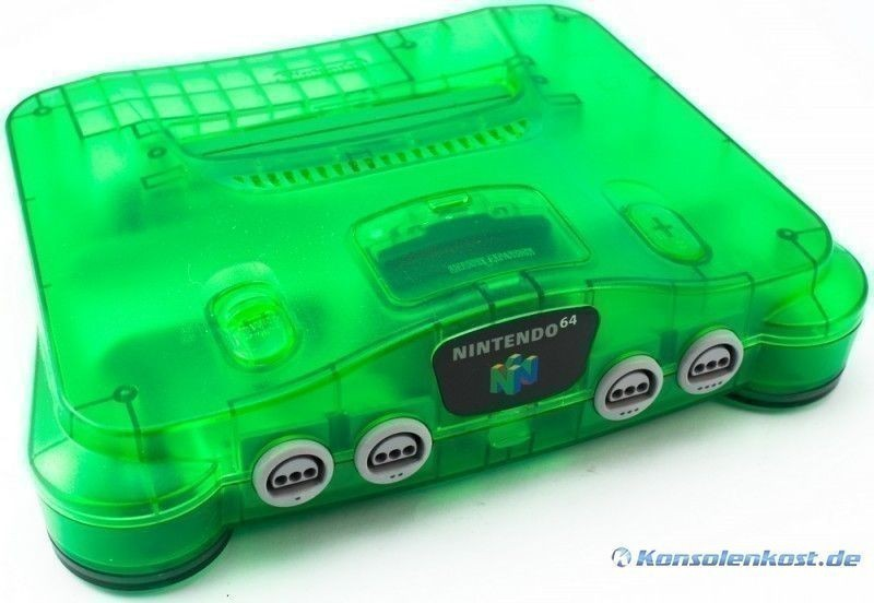 N64 - Konsole #Jungle Green