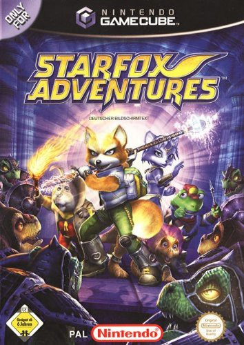 GameCube - Starfox Adventures