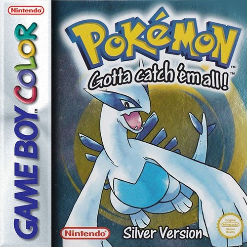 GameBoy Color - Pokemon Silberne Edition / Silver Version