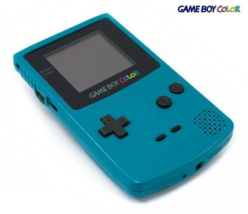 GameBoy Color - Konsole #Türkis/Blau/Teal