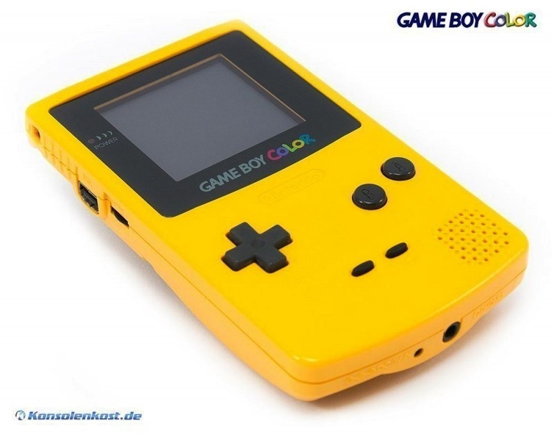 GameBoy Color - Konsole #gelb