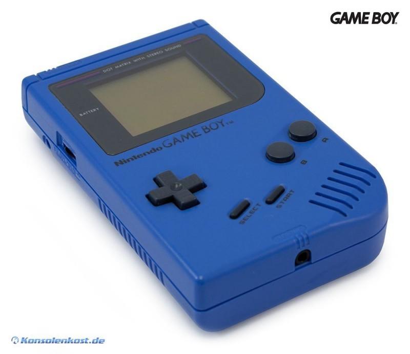GameBoy - Konsole #blau - Blue Harry Classic 1989 DMG-01