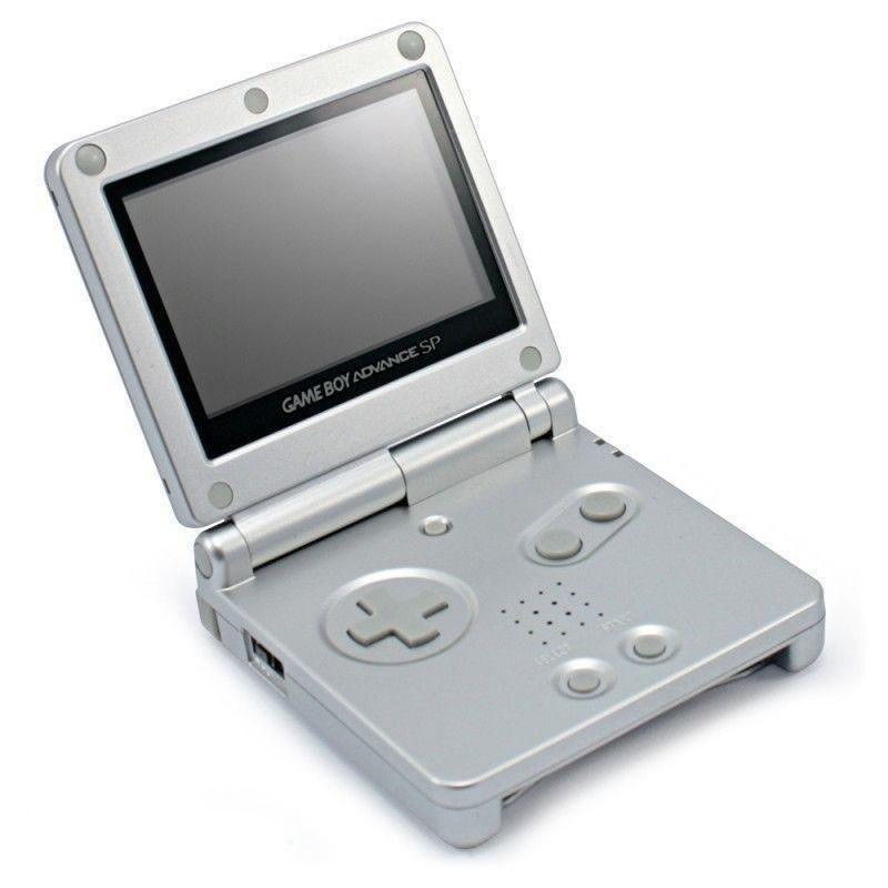 GameBoy Advance - Konsole GBA SP #silber + Netzteil