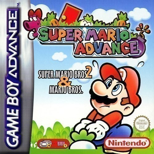 GameBoy Advance - Super Mario Advance 1: Super Mario Bros. 2 & Mario Bros.