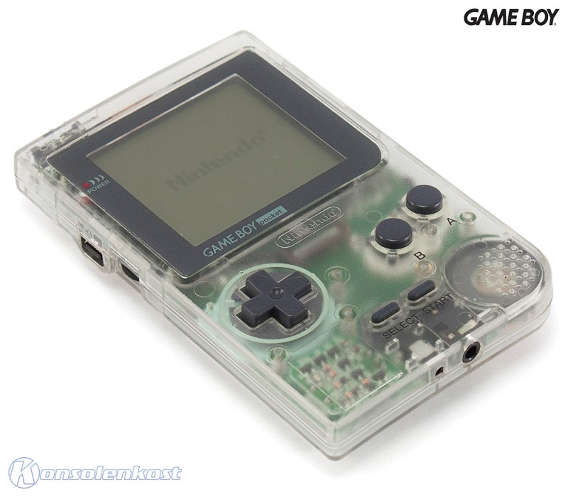 GameBoy Pocket - Konsole #clear