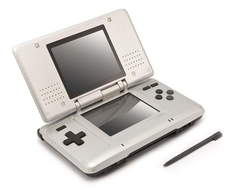 Nintendo DS - Konsole #silber + Netzteil
