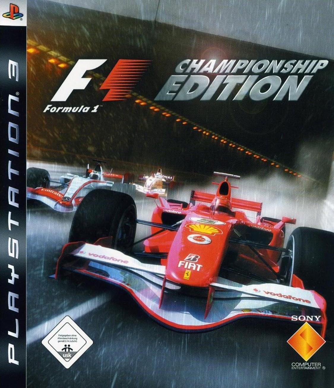 PS3 - F1 / Formula One Championship Edition