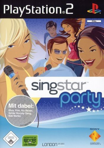 PS2 - SingStar Party