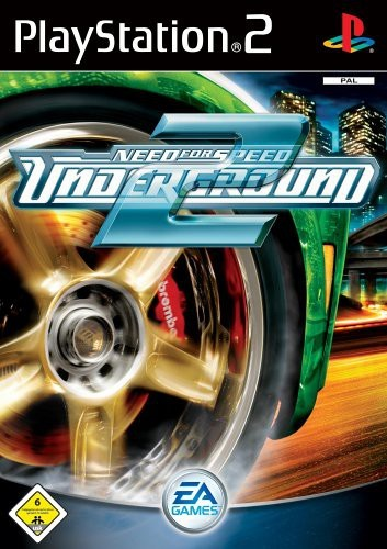 PS2 - Need for Speed: Underground 2