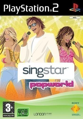 PS2 - SingStar Popworld
