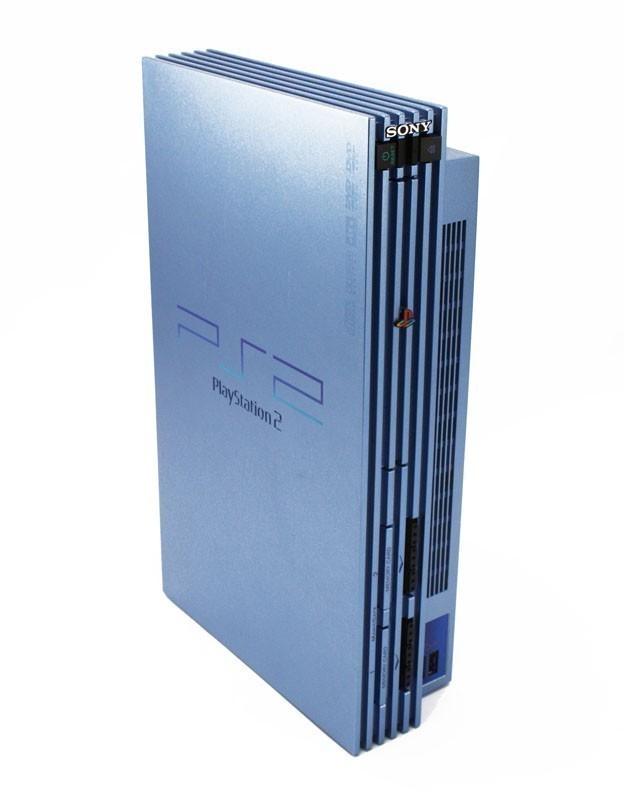 PS2 - Konsole #aqua blau