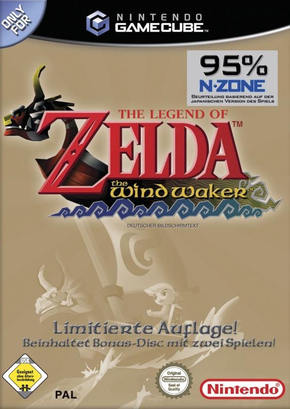 GameCube - Legend of Zelda: Wind Waker [Limitierte Auflage inkl. Bonusdisk]