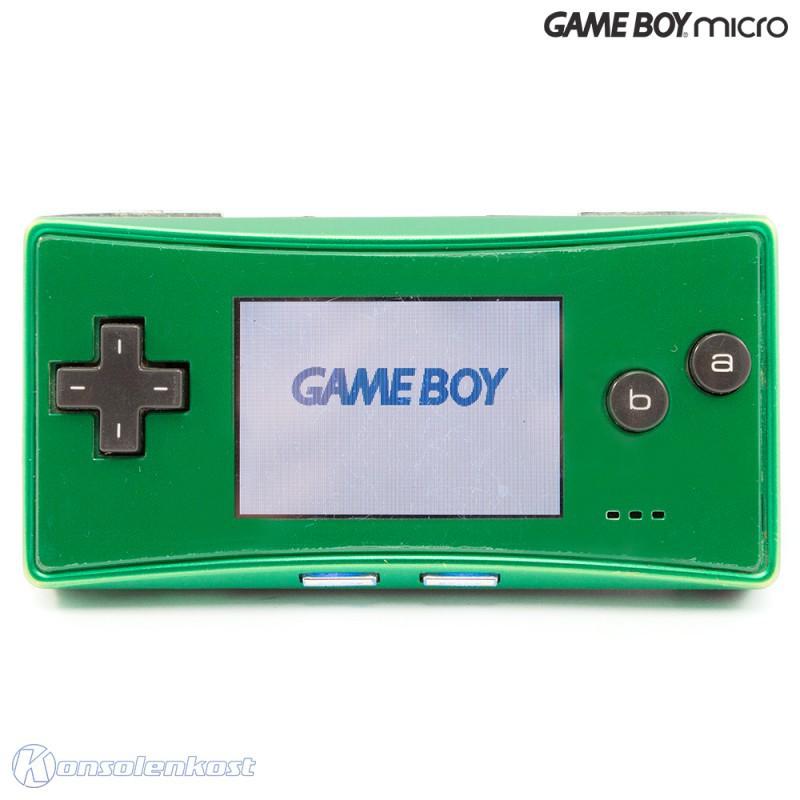 GameBoy Micro - Konsole #grün + Netzteil