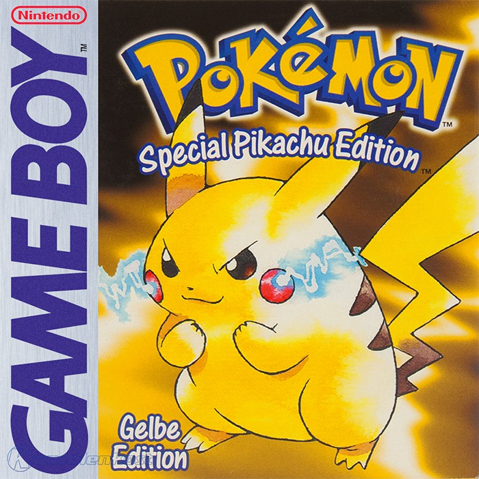GameBoy - Pokemon Gelbe Edition