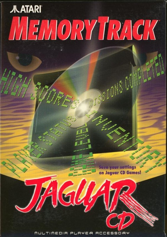 Atari Jaguar - Memory Track for CD Games