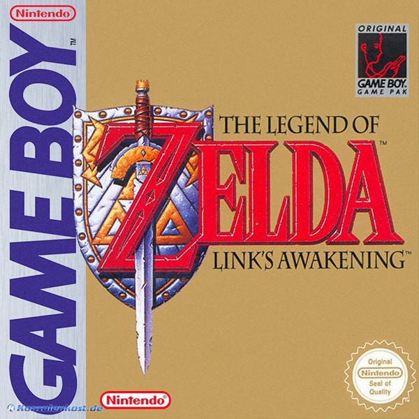 GameBoy - The Legend of Zelda: Link\'s Awakening / nicht DX