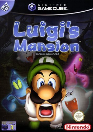 GameCube - Luigi\'s Mansion