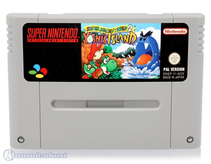 SNES - Super Mario World 2: Yoshi\'s Island