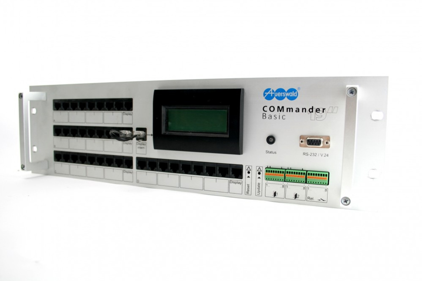 "Auerswald COMmander Basic 19/"" mit 4S0 /& 8a//b Modul Telefonanlage Neu MwSt."