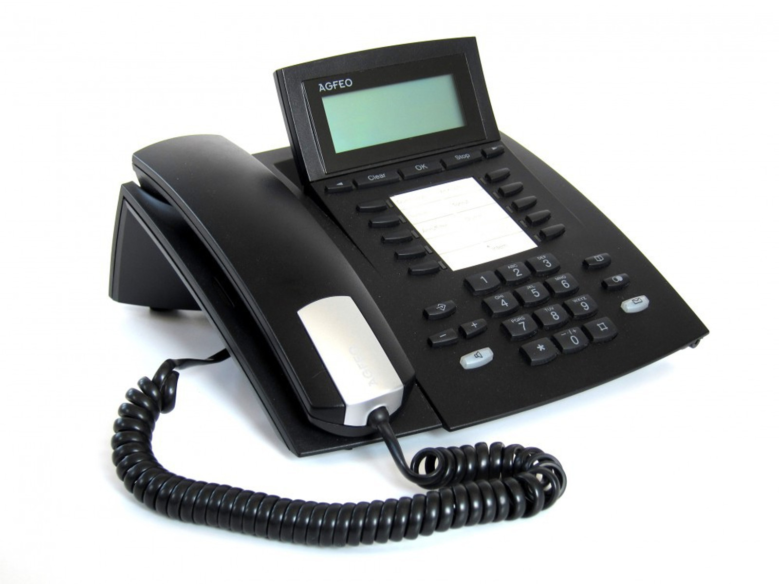 S0 Systemtelefon silber // inkl MwSt. Agfeo ST 40
