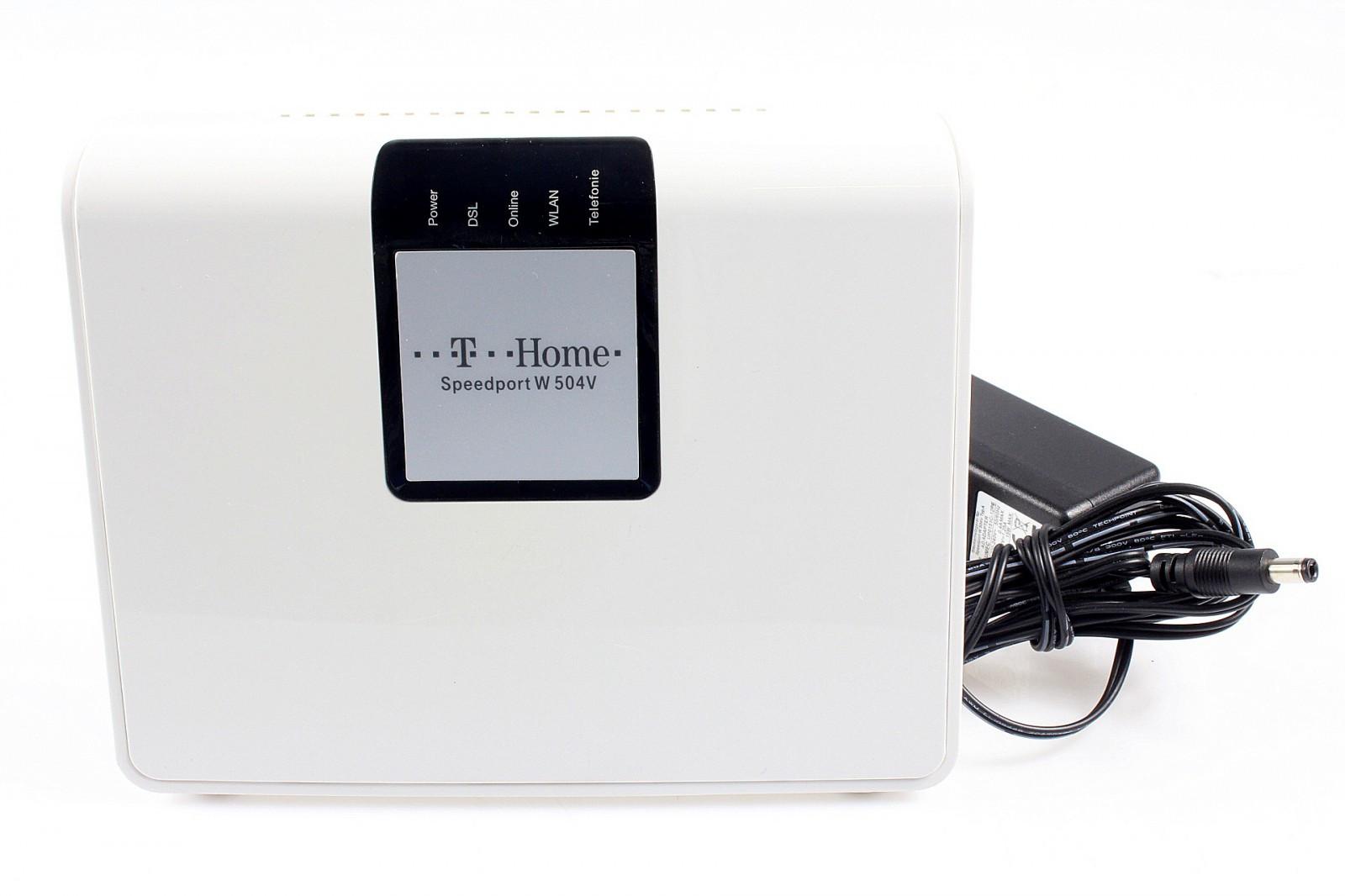 telekom speedport w 504v router modem 300mbps. Black Bedroom Furniture Sets. Home Design Ideas