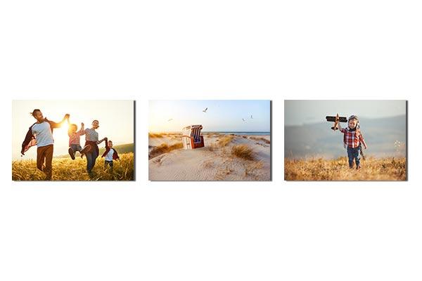 Fotowand gestalten - 3 Elemente