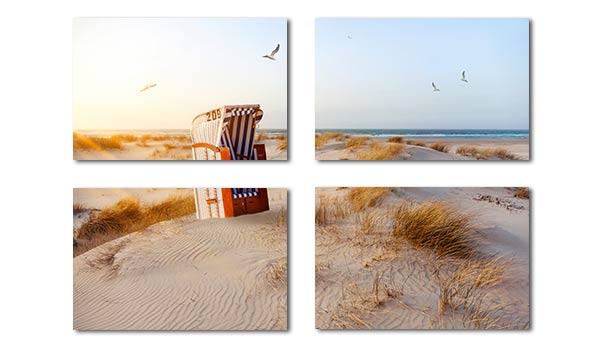 Foto-Mehrteiler aus 4 Elementen