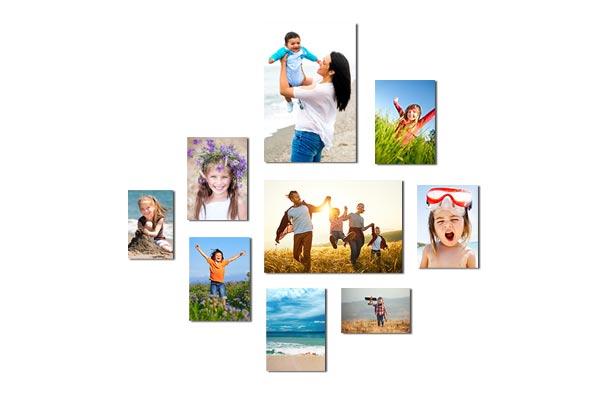 Fotowand gestalten - 9 Elemente