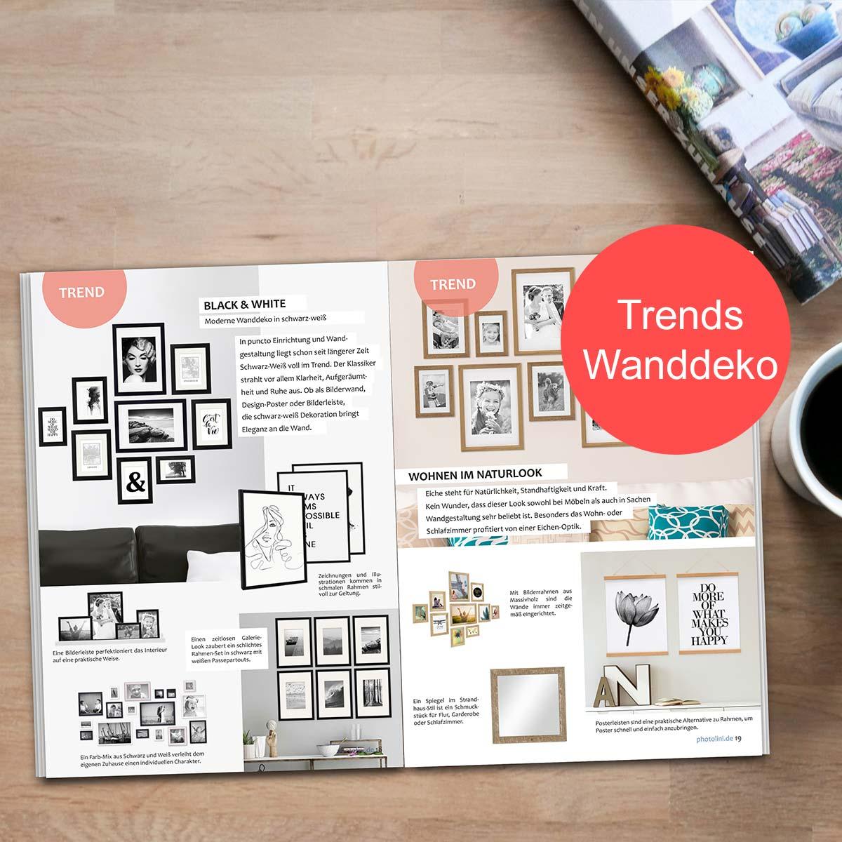 E-Paper Wände dekorieren Trends Wanddeko