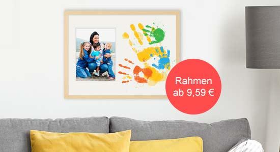 Muttertagsgeschenk DIY Collage-Rahmen