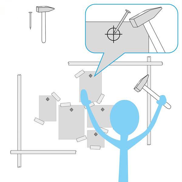 E-Paper Wandgestaltung Anleitung