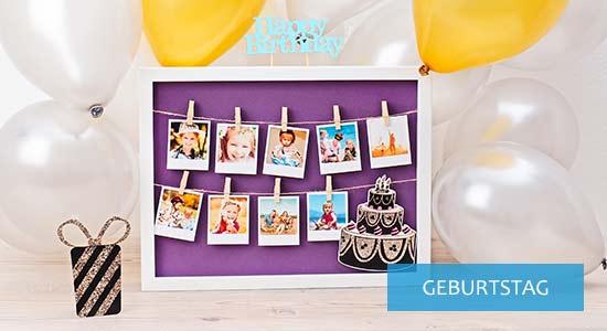 Geschenkideen Bilderrahmen zum Geburtstag
