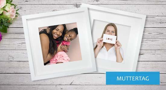 Geschenkideen Bilderrahmen zum Muttertag
