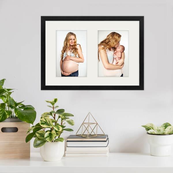 Schwangerschaft Bilder im Collagerahmen
